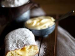 donut άχνη κρέμα