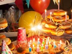 donuts για πάρτι